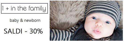 Saldi online -30% sulla collezione 1+in the family su Cocochic.it Scopri le nostre proposte http://www.cocochic.it/it/6_1-in-the-family e buono shopping