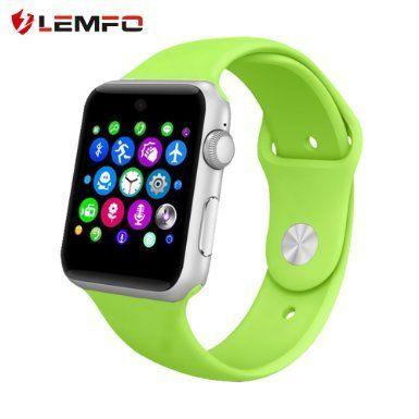 Lemfo LF07 Bluetooth SmartWatch 2.5D ARC HD(Green) *** Check this awesome product by going to the link at the image.