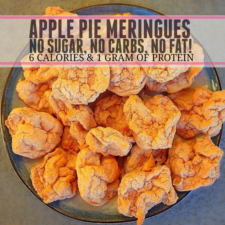 Apple Pie Meringues #healthy #easy