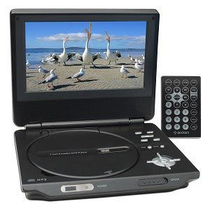 Axion 7-Inch Portable DVD Player (Black) Auction