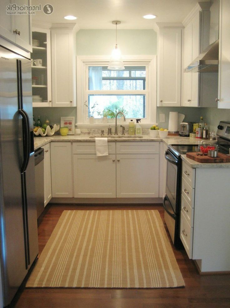 This is the almost the exact layout of the kitchen that we for Small u shaped kitchen designs photo gallery