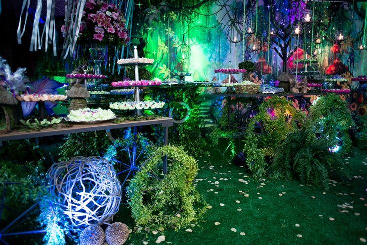 Decoração da festa Tinker Bell