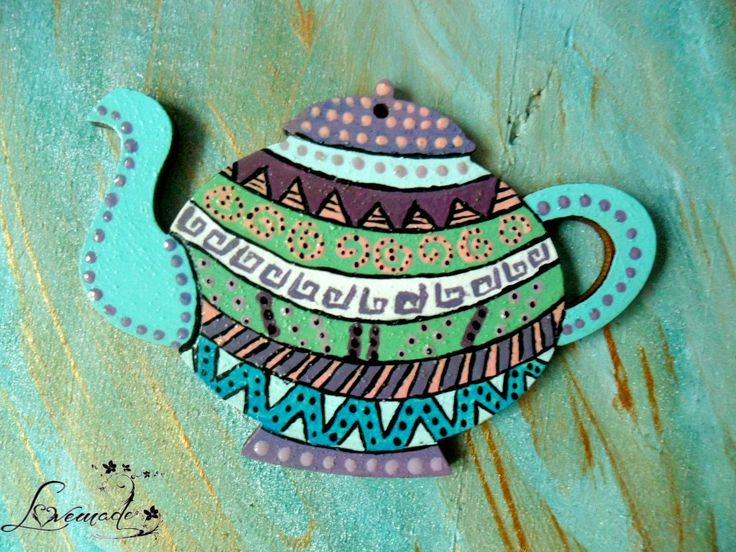 Aztec print teapot (2) (30 LEI la LoveMade.breslo.ro)