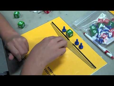 Hands On Equations - looks like a great way to teach pre-algebra