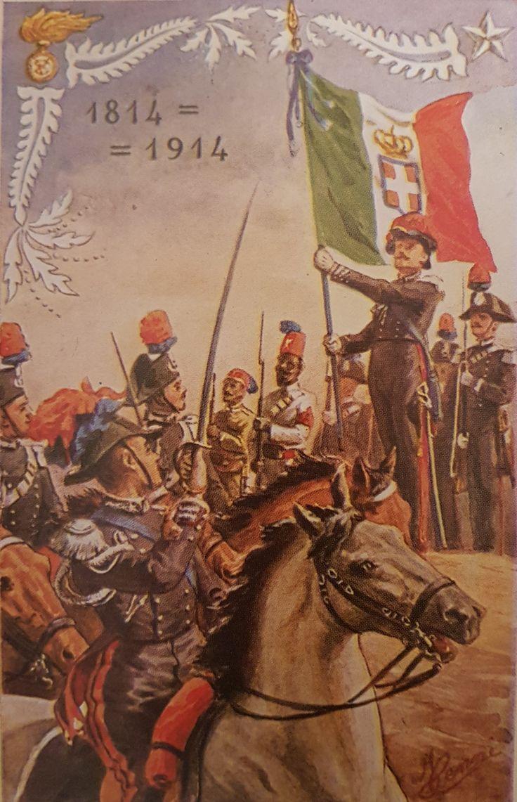 Primo Centenario. Bandiera di Guerra