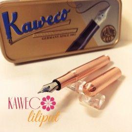 德國 Kaweco Liliput 黃銅款 限定色 玫瑰金 迷你手帳型鋼筆