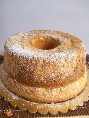 Chiffon cake - Ciambellone americano - ricettesfiziosedirosaria
