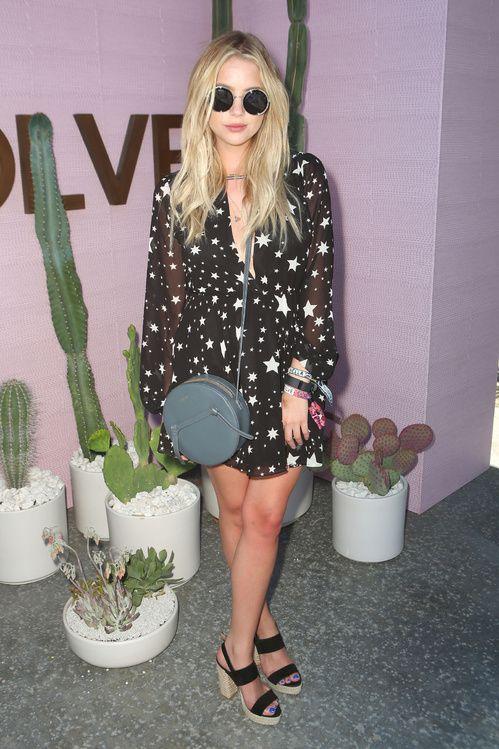 Ashley Benson lors du premier week-end du Festival de Coachella