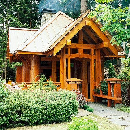 Modern Shed Atlanta: 63 Best Backyard Pavilions Images On Pinterest