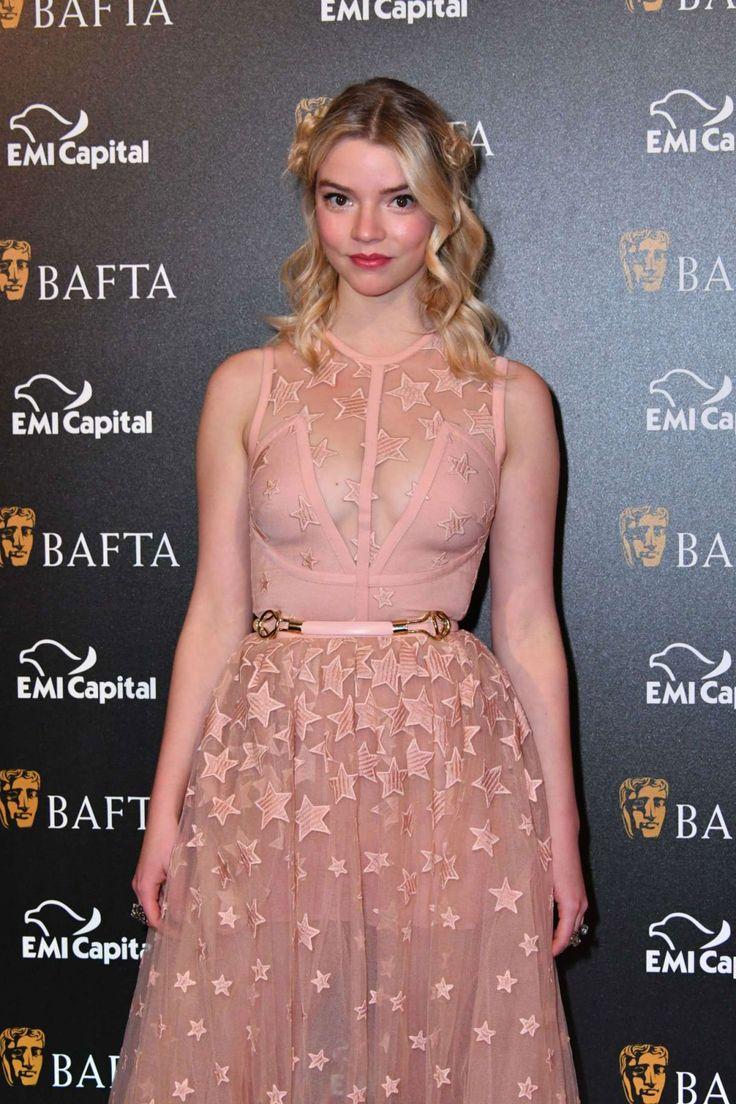 Anya Taylor-Joy Stills at Bafta Gala Dinner in London - Celebskart