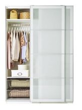 PAX SEKKEN wardrobe combination with soft-closing sliding doors from IKEA $544.00 (15% Off) -