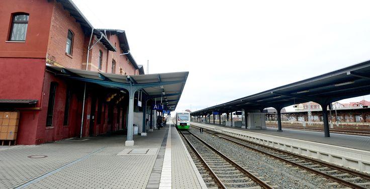 Der Bahnhof in Arnstadt. Foto: Hans-Peter Stadermann