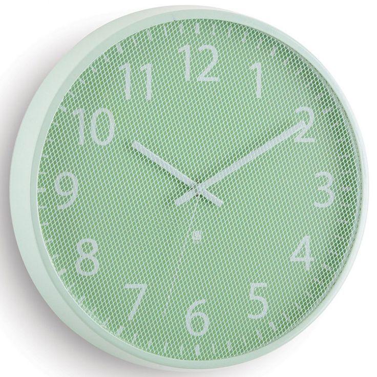 Часы настенные Perftime мятные