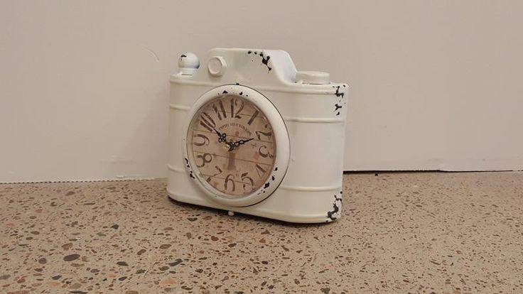 Retro Pedestal Clock from The Furniture Shack