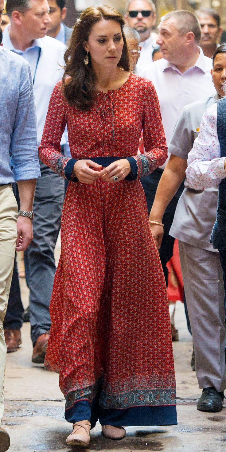 Kate Middleton's Most Memorable Outfits - April 12, 2016  - from InStyle.com
