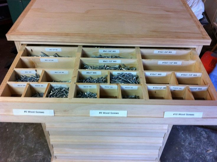 woodshop storage drawers 2