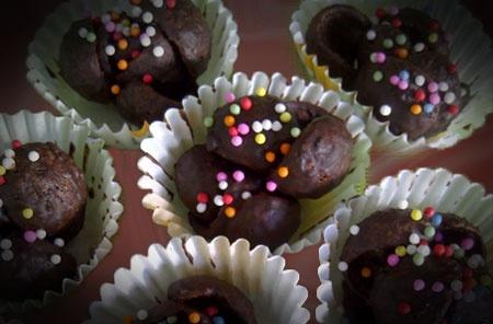 kue kering coklat