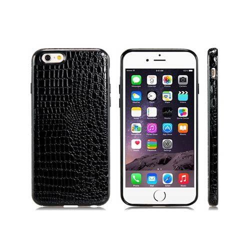 Luxe Alligator Pattern Case (Black) - iPhone 6. From www.iToys.co.za