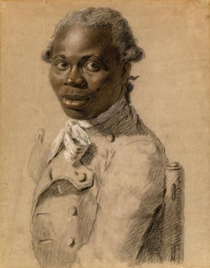 Portrait of a Man, ca. 1802 - Joseph Ducreux (French, 1735–1802)   black, brown, red, and white chalk   Estate of Mrs. Vincent Astor, 2012   2012.23