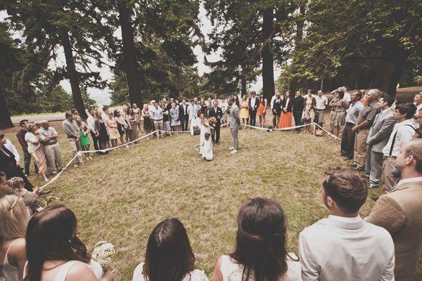 Bohemian Portland Park Wedding.