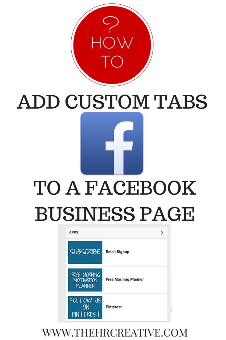 Custom Facebook tabs are a great way to spiff up your business page with touches all your own. In a visual flow format that's mostly controlled by the social media platform itself, making the most of these tiny advantages and calls-to-action can be pivotal to expanding your reach.