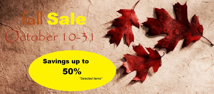 Fall Sale!! 50% off of select items. Visit www.kitigan.com and start shopping. #Sale #FallSale
