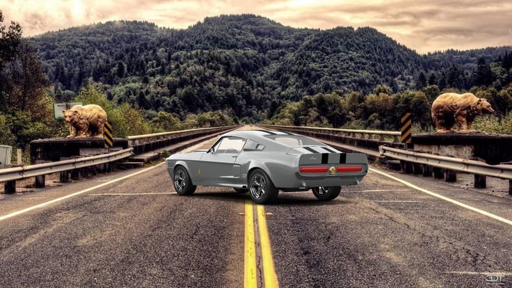 Checkout my tuning #Mustang #ShelbyGT500 #1967 at 3DTuning #3dtuning #tuning #eleanor