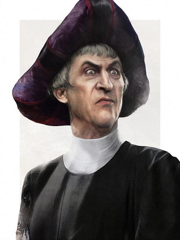 Disney Villains in real life : Frollo