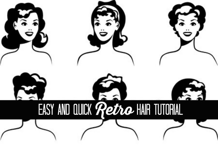 Easy Retro Hair Tutorial: The Glamorous Housewife Beauty