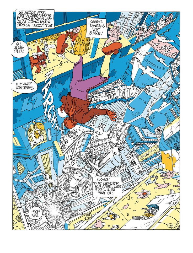 L'incal Moebius