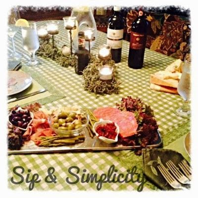 Sip and Simplify: Date Night