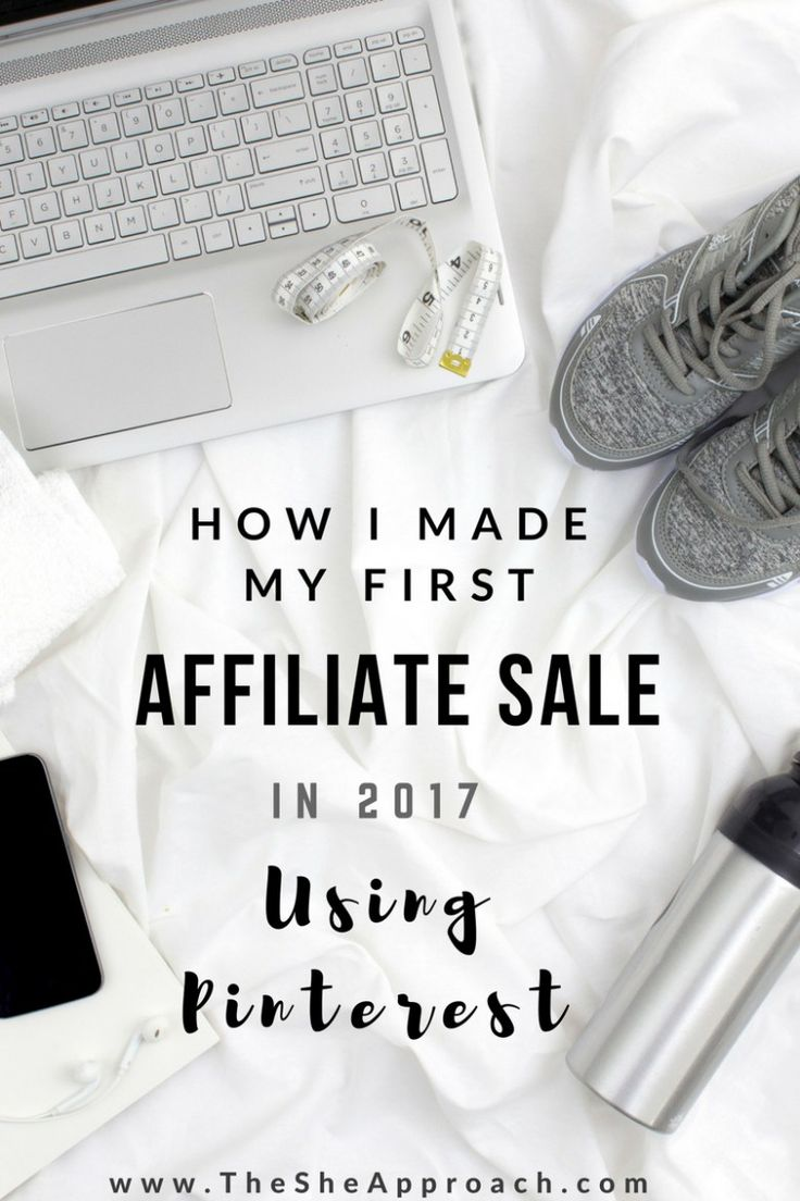 Who knew you could use Pinterest to make sales and earn commissions?  Read my blog post about how I made my first affiliate sale in 2017 by using pinterest.  More tips and tricks about affiliate marketing for bloggers are included and everything else you need to know if you are a beginner in affiliate sales and looking to make some money online!  Give this article a read! #bloggingtips #startablog