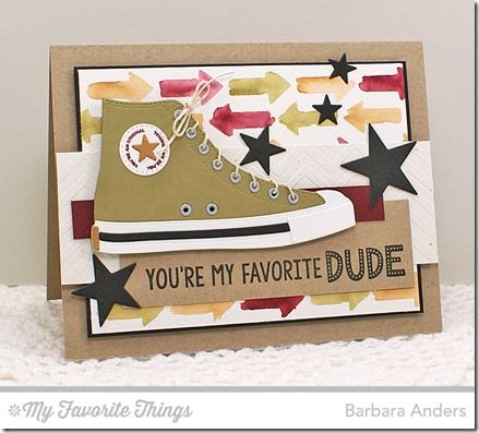 Be Original All-Star High Top Die-namics, Sun Moon and Stars Die-namics, Arrows About Stencil, Small Chevron Stripes Stencil - Barbara Anders #mftstamps