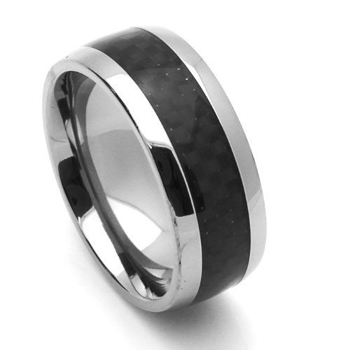 nickel plain and rings c band tungsten wedding ring bands free