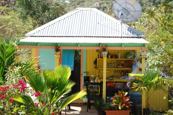 colorful caribbean cottage | cottages | Pinterest ...