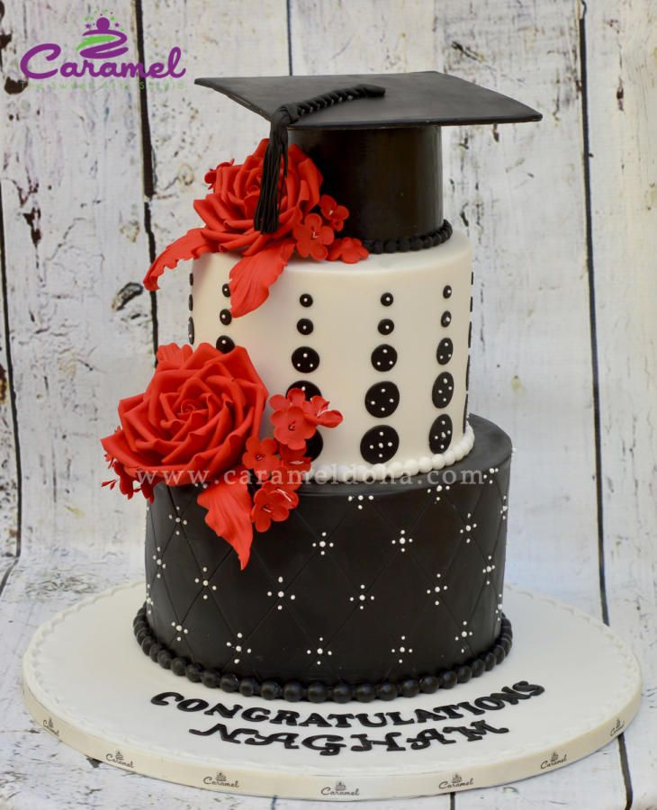 Graduation Cake by Caramel Doha