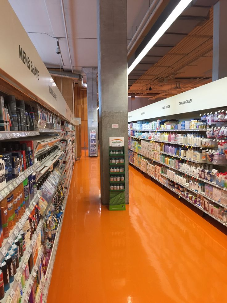 Loblaws, POP_Toronto - Food for thought!  At Loblaws you won't find any cluttered aisles, or ancient products collecting dust - items are placed with logical precision.