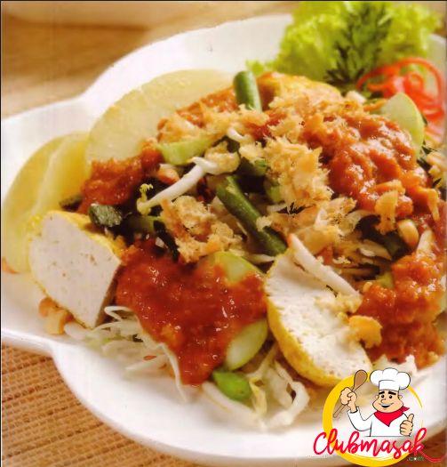 Resep Salad Sayur Saus Kacang, Salad Sayur Untuk Diet, Club Masak