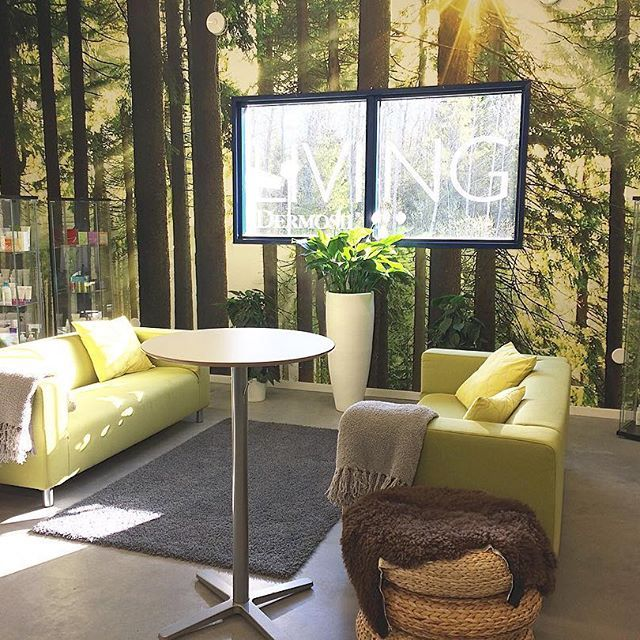 Goodmorning everyone! Let me introduce you to our beautiful meeting room LIVING ☀️ #dermoshop #dermoshophq #goodmorning #dermosil