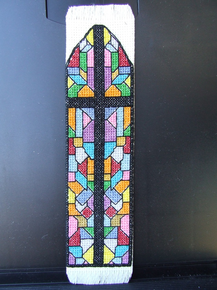 48 best Stained glass cross stitch images on Pinterest ...