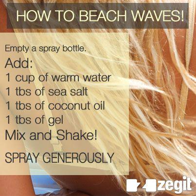 How to beach waves! Beach waves: 2013 summer hair trend.