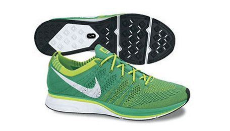 b5f1e9dce3df Nike Flyknit Trainer Forest Green Silver Pure Platinum Shoe