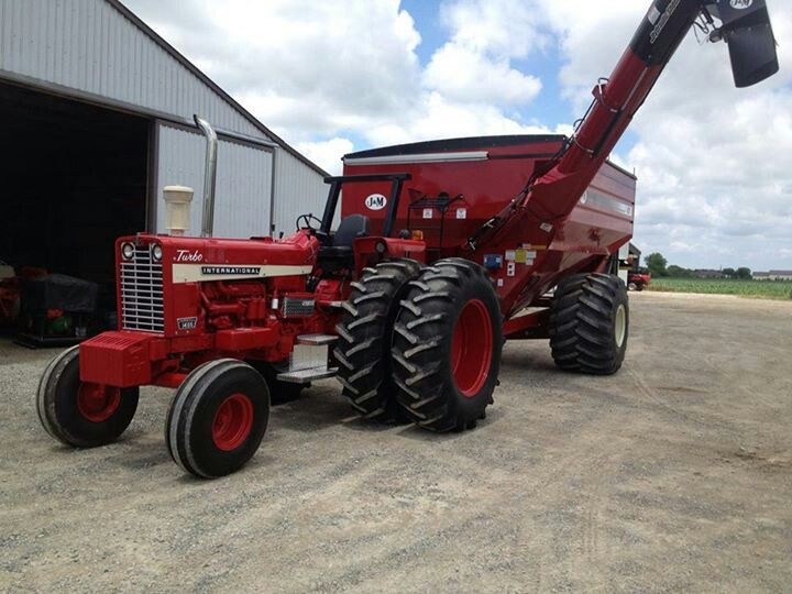 Ih 1456 Tractor : Best images about farming life on pinterest john