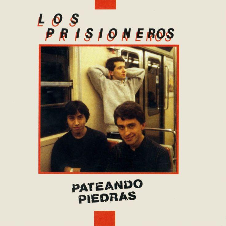 Carátula Frontal de Los Prisioneros - Pateando Piedras