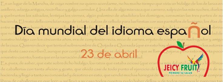 El Día Mundial del Idioma Español se celebra todos los años el 23 de Abril. Este día está destinado a rendir homenaje a nuestra lengua, que constituye el medio fundamental de comunicación para más de cuatrocientos millones de personas en el mundo.