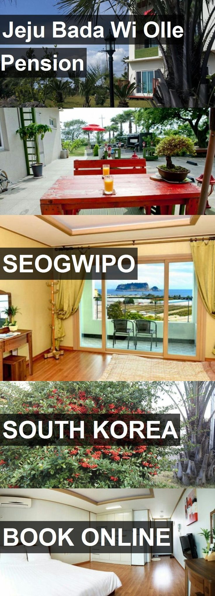 Hotel Jeju Bada Wi Olle Pension in Seogwipo, South Korea. For more information, photos, reviews and best prices please follow the link. #SouthKorea #Seogwipo #travel #vacation #hotel