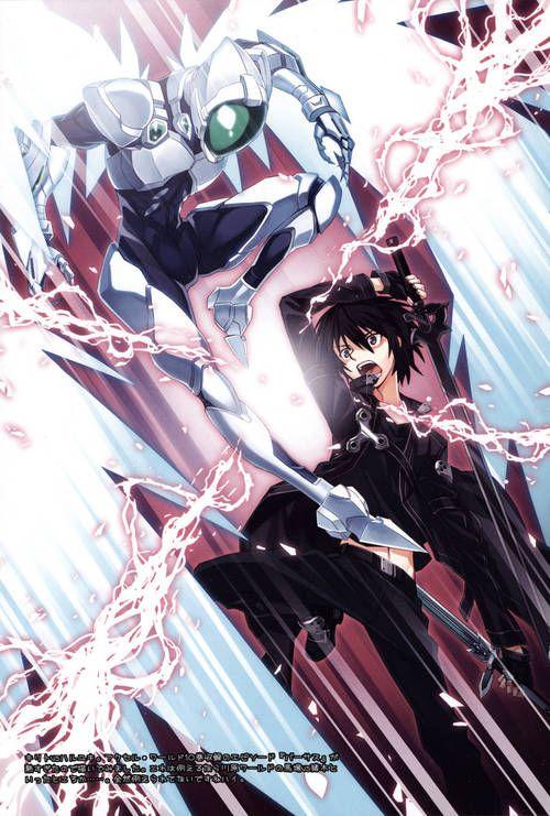 Silver Crow vs Kirito, SAO & Accel World crossover