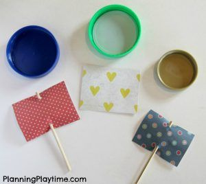 Bottle Lid Boat Crafts for Kids. So fun to make and float.