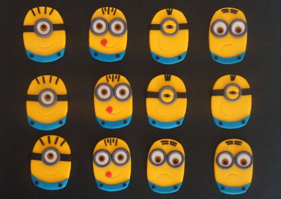 Hey, I found this really awesome Etsy listing at http://www.etsy.com/listing/156460419/minion-fondant-cupcake-toppers