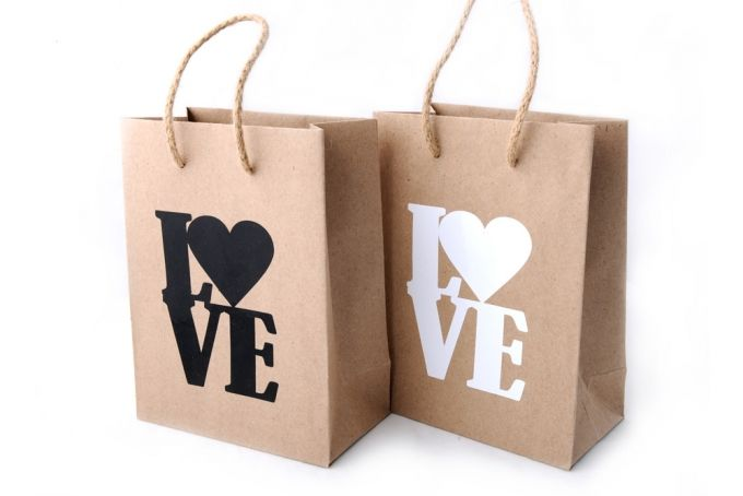 LOVE Gift Bag by Fox & Heroine